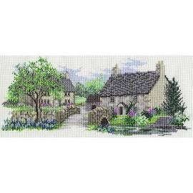 LAN02 - The Lanes Series - Bluebell Lane Cross Stitch Kit