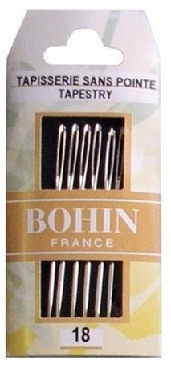 Bohin Tapestry Needles - Size 18 (Pack of 6)