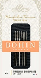 Bohin Tapestry Needles - Size 26 (Pack of 6)