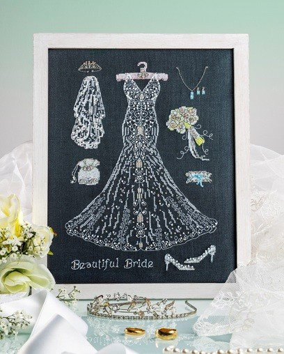 Cross Stitcher Project Pack - Wedding Belle - XST356
