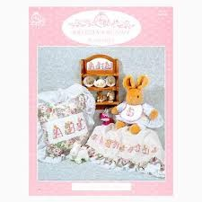 Lorri Birminham Designs - Brittany Bunny Alphabet