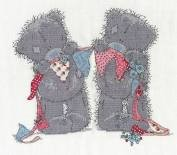 BL1132/72 - Me to You Tatty Teddy Bunting Bears Cross Stitch Kit