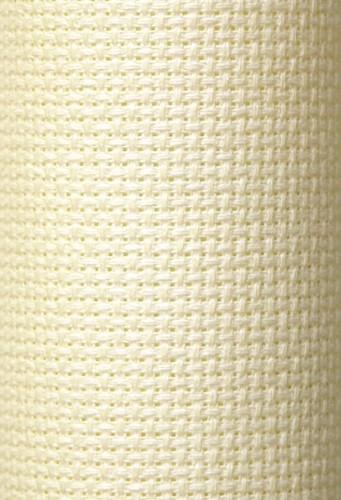 Charles Craft 14 Count Aida Antique White (light cream) - 15 x 18in (38 x 45cm)