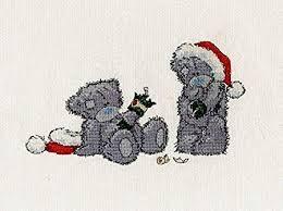 BL1094/72 - Me to You Tatty Teddy Christmas Crackers Cross Stitch Kit