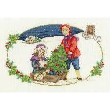 DMC BK1581 - The Christmas Tree Cross Stitch Kit