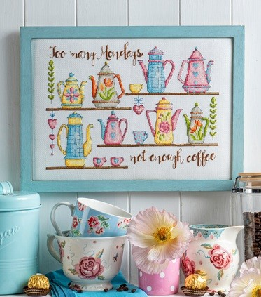 Cross Stitcher Project Pack - Brew Can do It - XST353