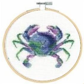 DMC Colourful Crab Cross Stitch Kit - BK1873