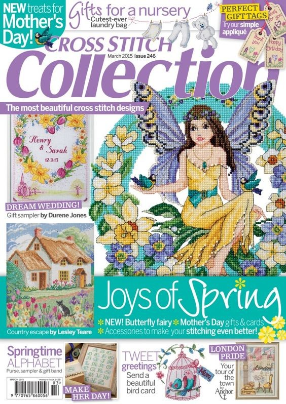 Cross Stitch Collection Magazine Issue 246 March 2015