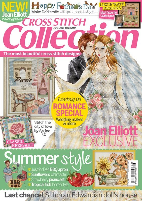 Cross Stitch Collection Magazine Issue 249 June 2015