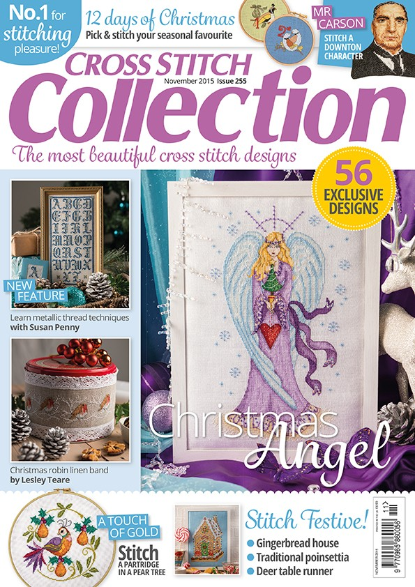 Cross Stitch Collection Magazine Issue 255 November 2015