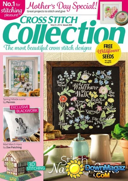 Cross Stitch Collection Magazine Issue 259 - March 2016
