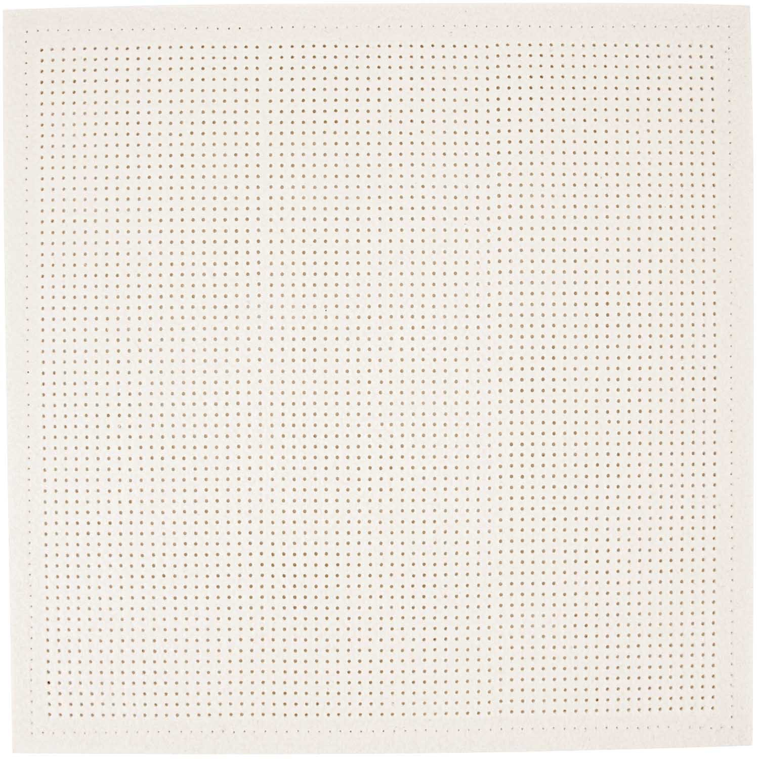 Rico Punched Felt Cushion To Cross Stitch - White