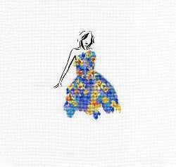 DMC Daffodil Dance Cross Stitch Kit - BK1792