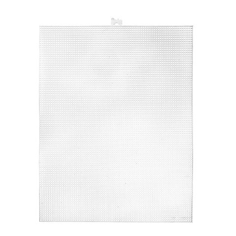 33407 - Plastic Canvas 7 Hole 10.5 x 13.5in - 1 Sheet