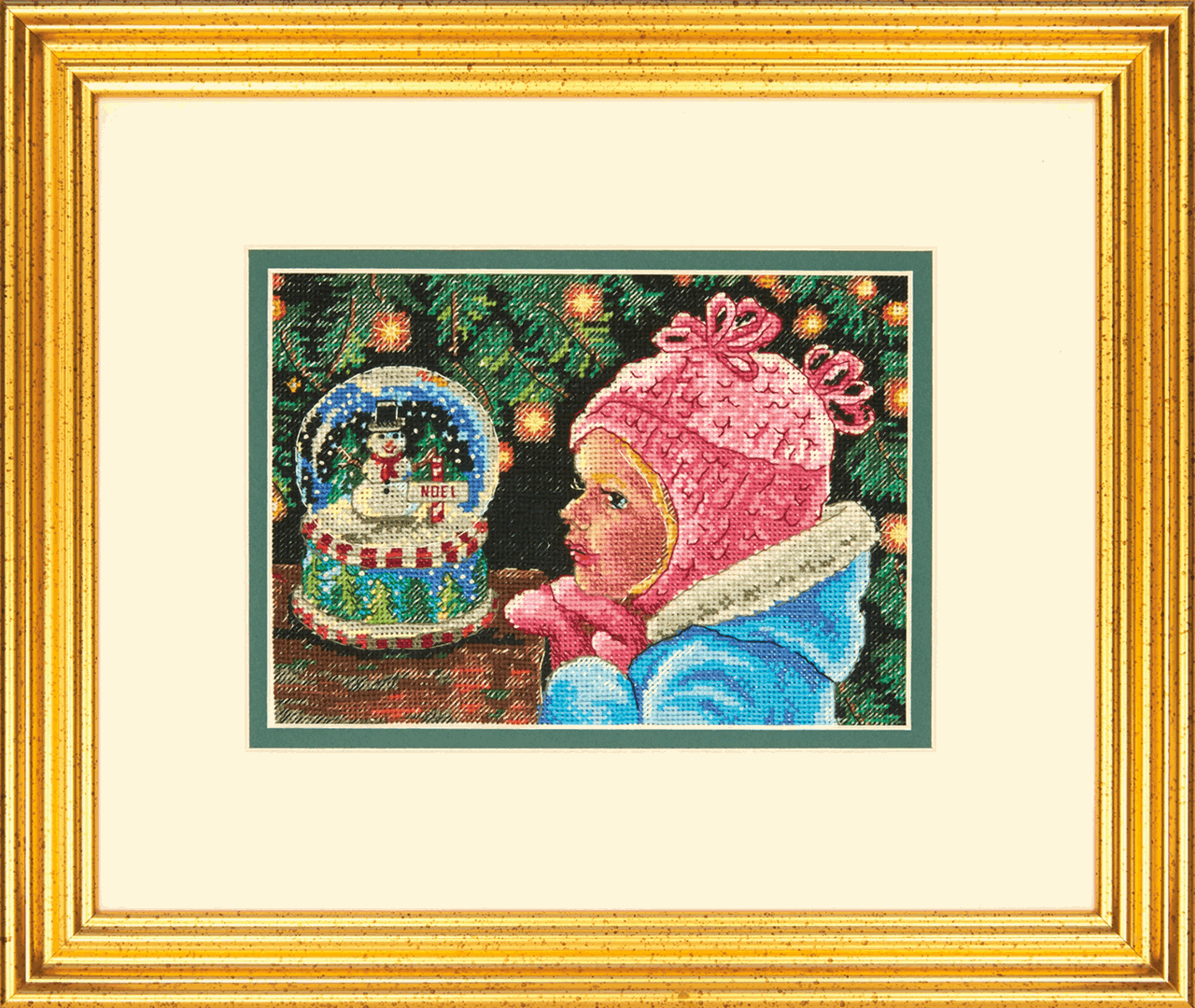 Dimensions Gold Petite Christmas Wishes Cross Stitch Kit
