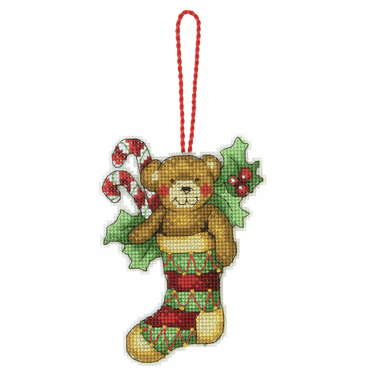 Dimensions Bear Ornament Cross Stitch Kit