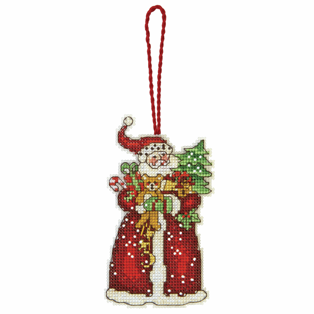 Dimensions Santa Ornament Cross Stitch Kit