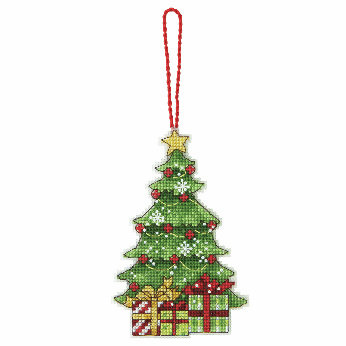 Dimensions Tree Ornament Cross Stitch Kit