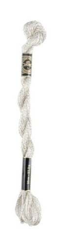 DMC Pearl #5 - 5283 Silver Skein