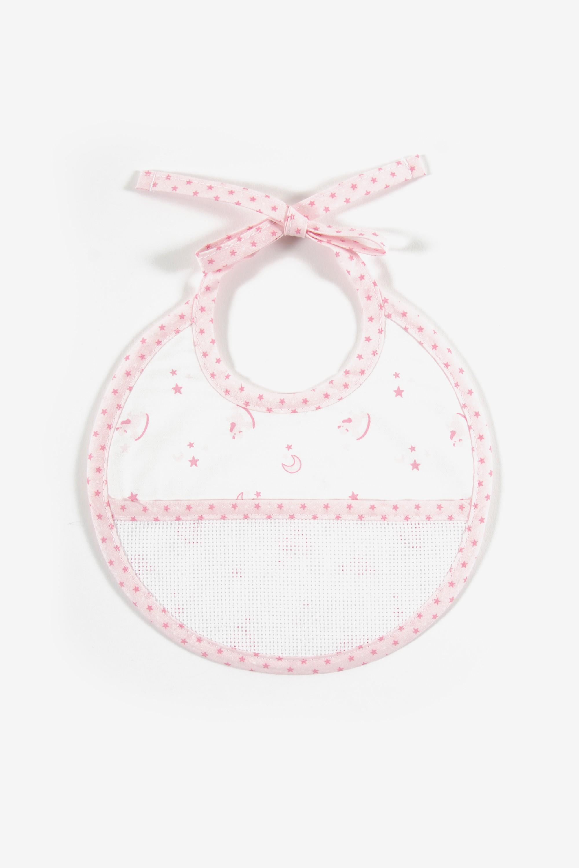 DMC Bib Pink - Birth