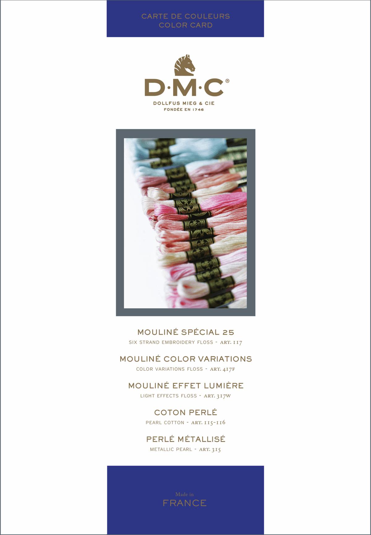 DMC Shade Card