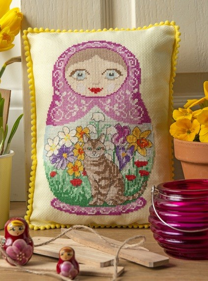Cross Stitcher Project Pack - Hello Dolly! XST343
