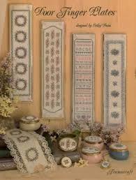 Framecraft Door Finger Plates Cross Stitch Booklet