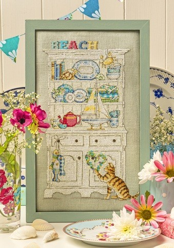 Cross Stitcher Project Pack - Going Coastal XST346