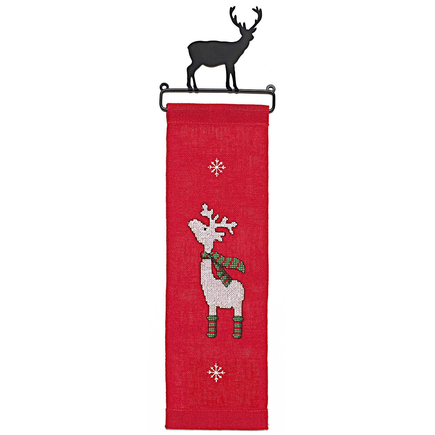 Rico Elk Hanger Cross Stitch Kit