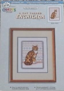 Coats - Kyle Hollingsworth A Cat Called Enchilada Cross Stitch Leaflet
