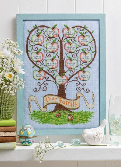 Cross Stitcher Project Pack - My Family Tree - XST355