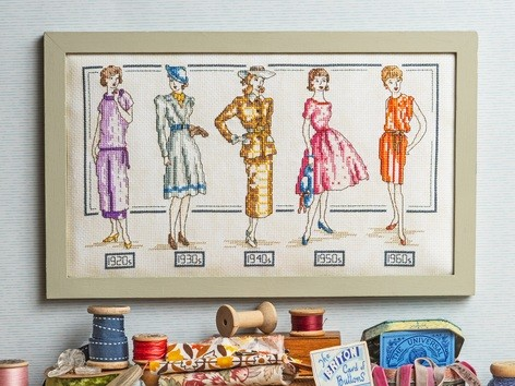 Cross Stitcher Project Pack - Passion for Fashion XST344