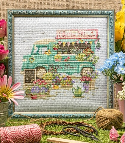 Cross Stitcher Project Pack - Beaux Bouquets XST347