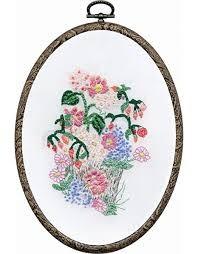 TK121 - Flower Pot DMC Embroidery Kit