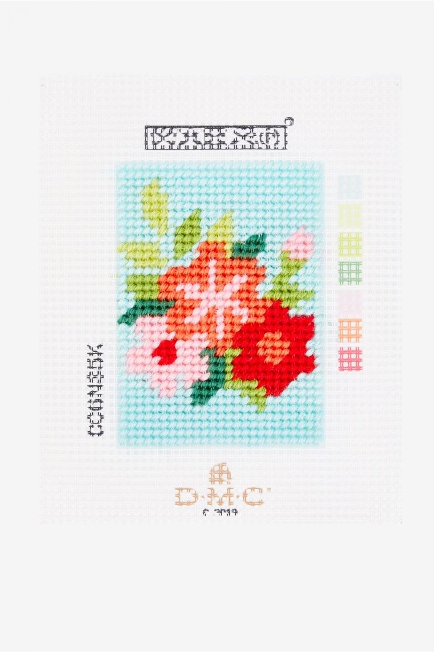 C06N85K - I Can Stitch! - Flowers Tapestry Starter Kit