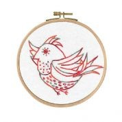 BL1153/74 - Free Spirit - Little Birds Printed Embroidery Kit