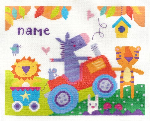 DMC BK1558 - Fun Day Cross Stitch Kit
