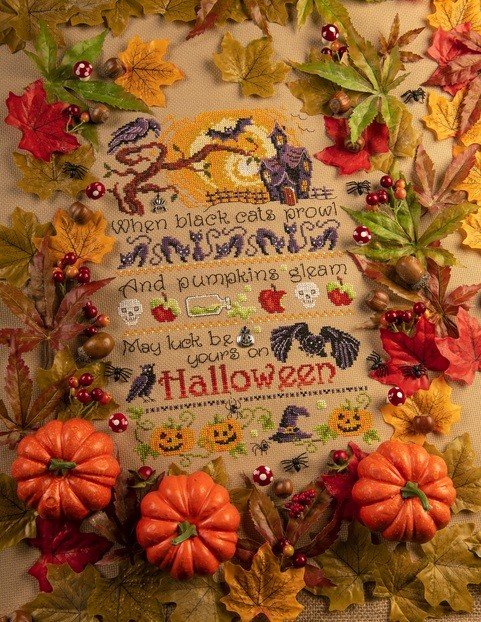 Cross Stitcher Project Pack - Happy Haunting XST349