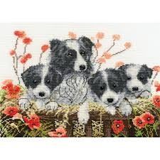 BK1189 - Happy Families Cross Stitch Kit