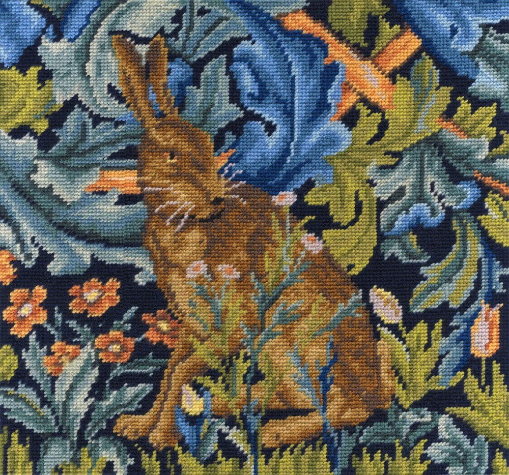 C120K/77 DMC V&A Tapestry Kit - William Morris - The Hare