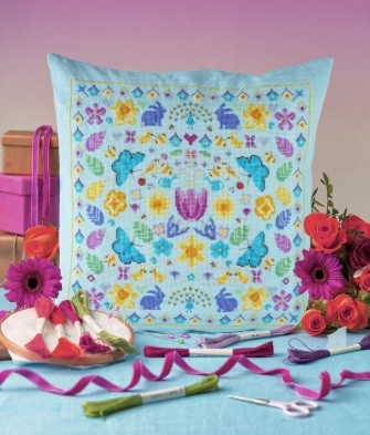 Cross Stitcher Project Pack - Hello Spring - XST342