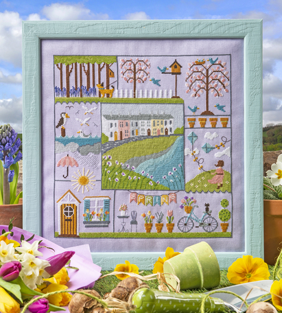Cross Stitcher Project Pack - Spring is in the Air XST343