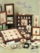 Framecraft Mixed Herbs Cross Stitch Chart Leaflet
