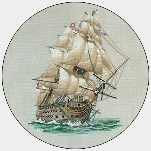 CVY309 - HMS Vicory Cross Stitch Kit