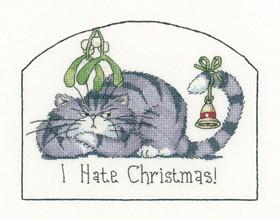 CRHT1287 - Heritage Cats Rule - I Hate Christmas