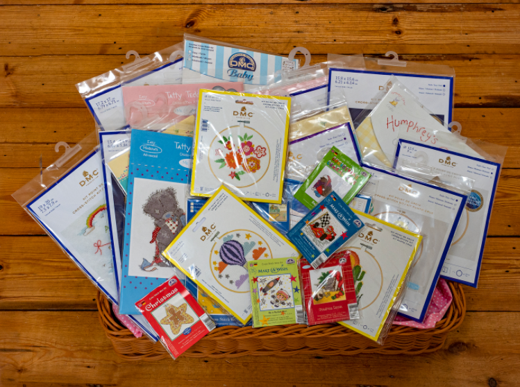 Half Price DMC Cross Stitch Kit Bundle