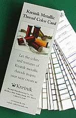 Kreinik Shade Card