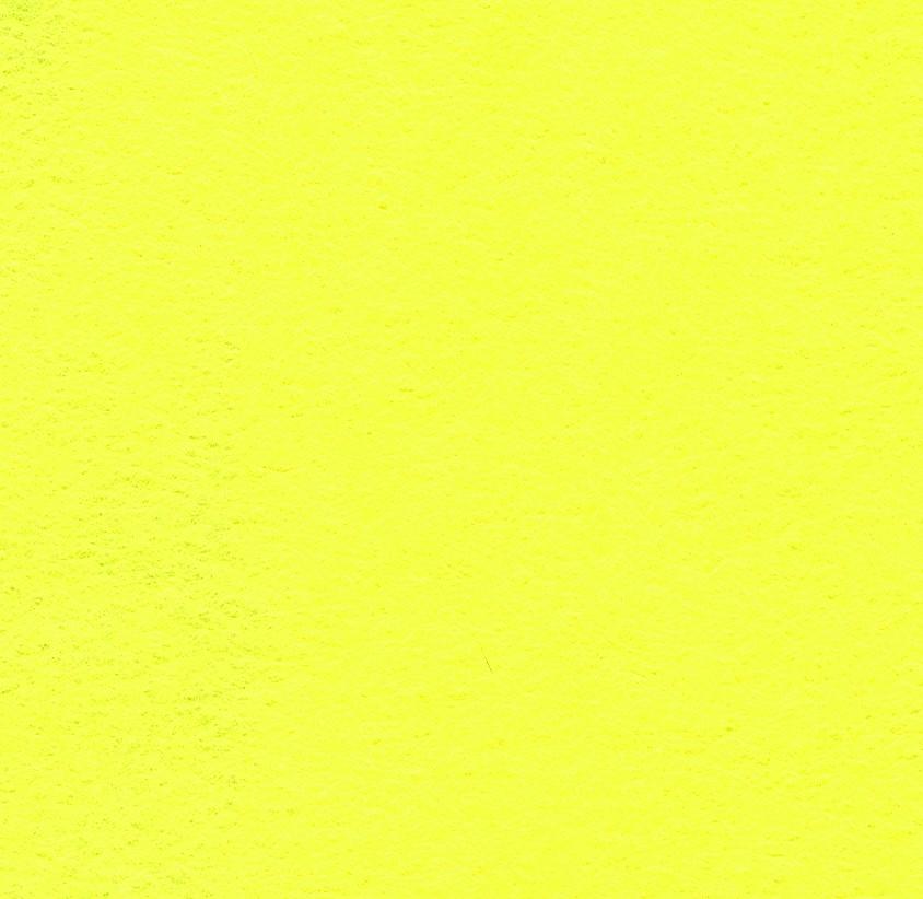Felt Square Lemon 30% Wool - 9in / 22cm