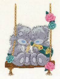 BL1080/72 - Me to You Tatty Teddy Let's Celebrate Cross Stitch Kit