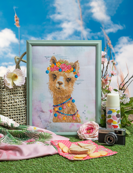 Cross Stitcher Project Pack - Simply Llamazing - XST357